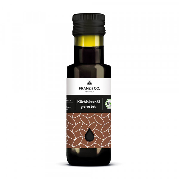 Franz & Co. Bio-Kürbiskernöl - geröstet