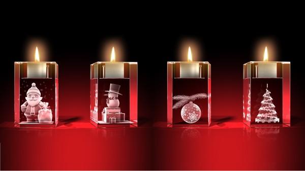 Advents-Teelichter-Set 1