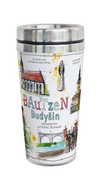 Bautzen - Fineart: Coffee-to-go-Becher