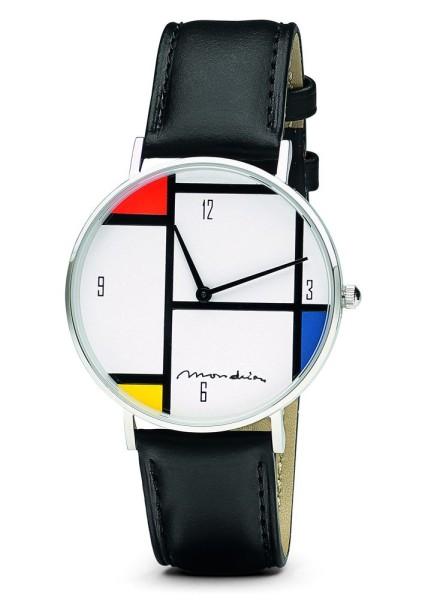 Künstler-Armbanduhr Mondrian - Tableau Nr. IV