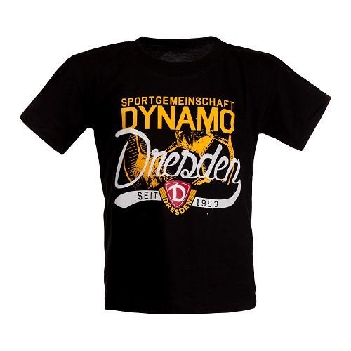 Dynamo Dresden - Kinder T-Shirt _schwarz_ 110-116
