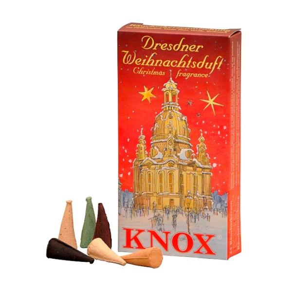 KNOX Räucherkerzen - Dresdner Weihnachtsduft