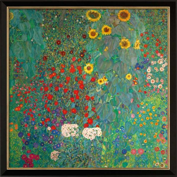 Gustav Klimt: Bild Bauerngarten mit Sonnenblumen (um 1907)