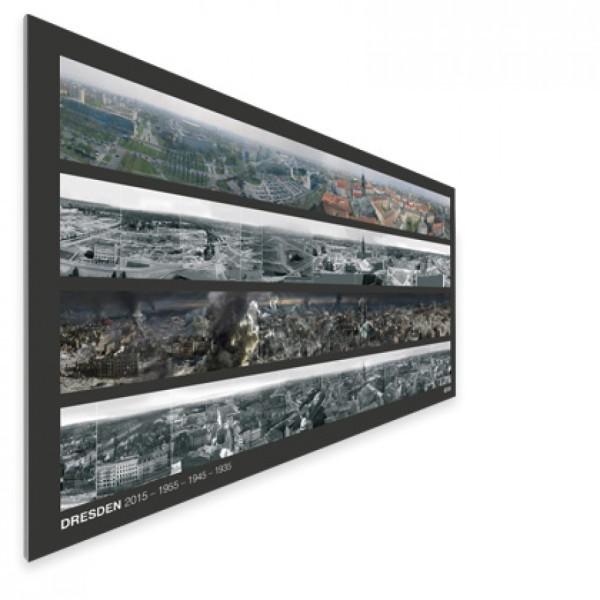 DRESDEN – Poster mit Panoramen