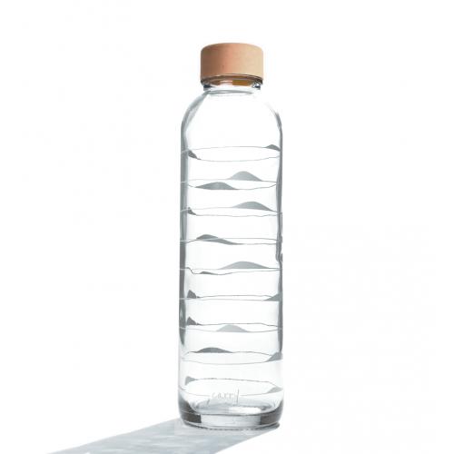 Carry Glastrinkflasche 0,7 l | Ocean Waves Light