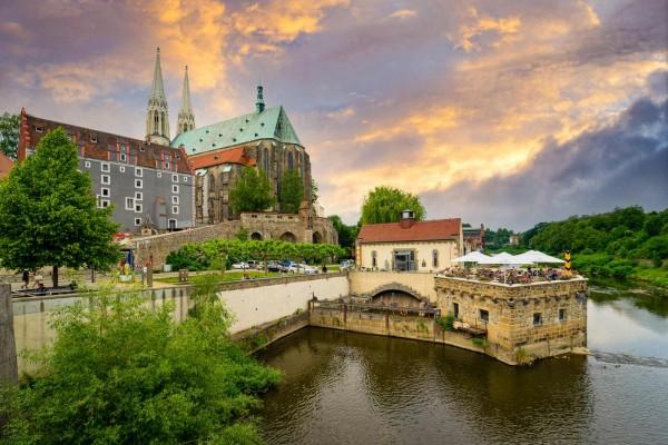 Wandbild Görlitz - Die Vierradenmühle (Motiv DMGR37)