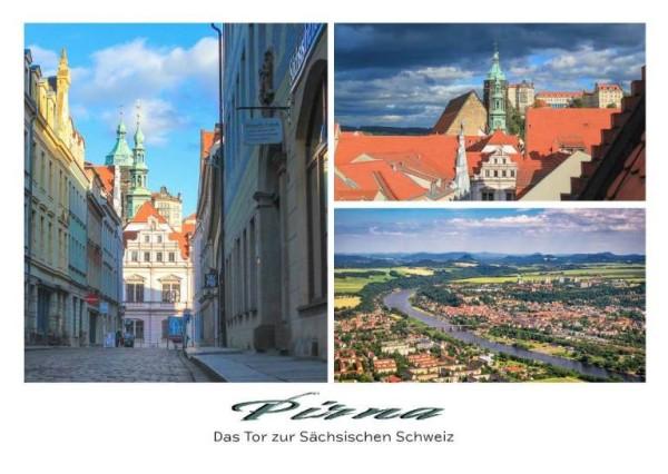 Postkarte Pirna - Stadt (Motiv PO_Pirna_29)