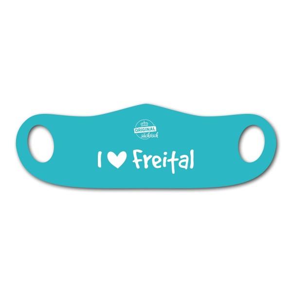 Mund- u. Nasenmaske I love Freital