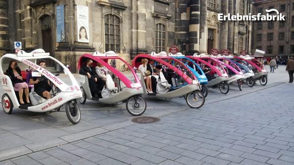Rikscha selber fahren in Dresden