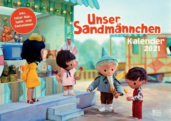 Unser Sandmännchen - Kalender 2021