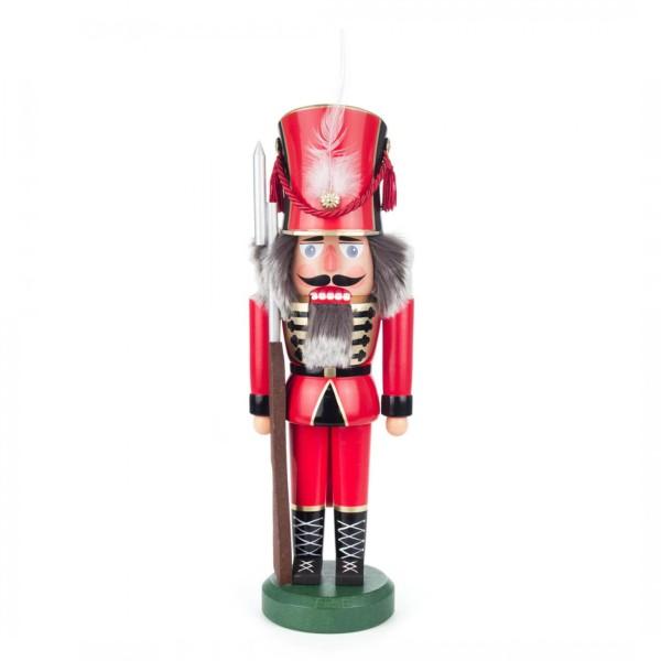 Nussknacker Soldat rot, 38cm