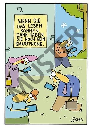Postkarte Smartphone