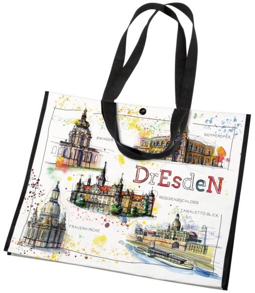 Dresden - Fineart: PET-Tasche