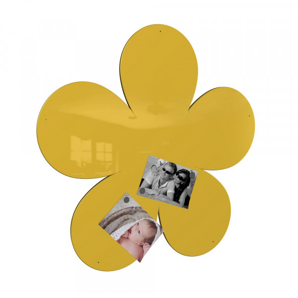 Magnetwand Blume