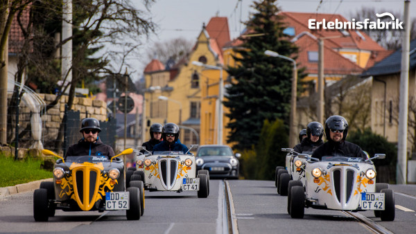 HotRod Stadtrundfahrt in Dresden – all inclusive