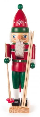 Nussknacker Skifahrer, 35cm