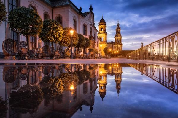 Wandbild Dresden (Motiv 00800)