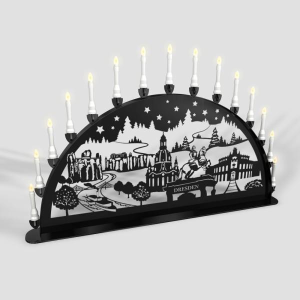 Schwibbogen Dresden - 15er Lichterkette