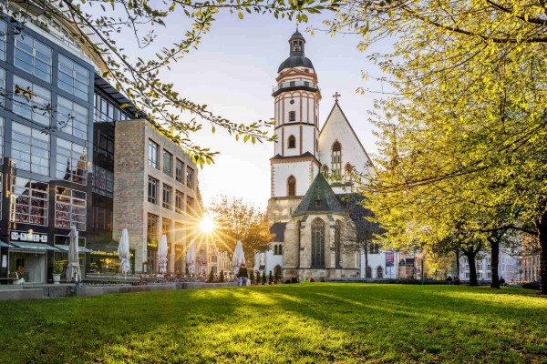 Wandbild Leipzig - Thomaskirche (Motiv PK07)