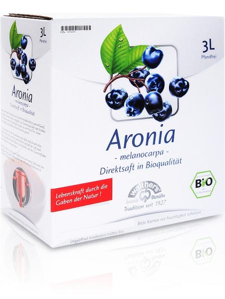 Bio Aroniasaft 3 Liter - Kelterei Walther 2020