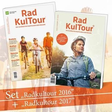 2 für 1-Angebot RadKulTour 2017 + 2016