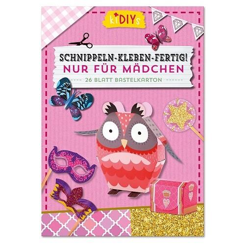 Schnippeln-Kleben-Fertig - Rosa