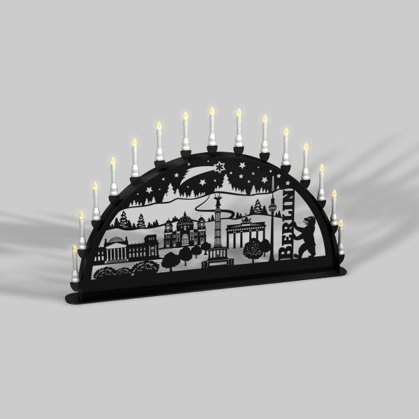 Außen-Schwibbogen Berlin - 15er Lichterkette