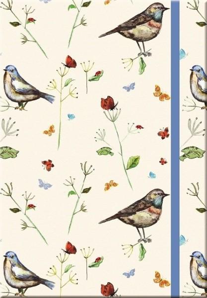 Notizbuch Vogelmotiv
