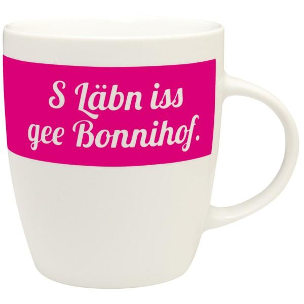 Tasse S Läbn iss gee Bonnihof.