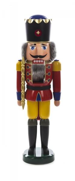 Nussknacker König rot-gelb, 60cm