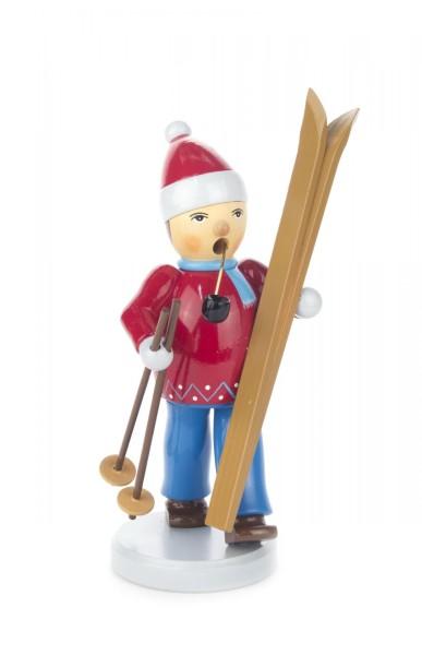 Dregeno Räuchermann Skifahrer