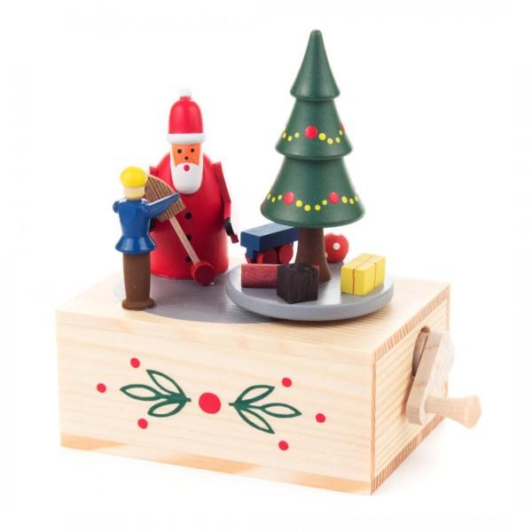 Klimperkästchen Weihnachtsmann Melodie: Oh Tannenbaum