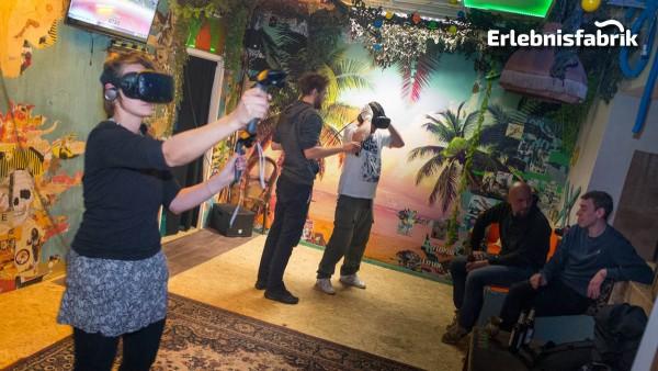 Virtual Reality (VR) Erlebnis in Leipzig