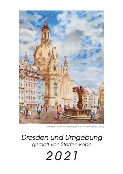 Kalender 2021 - Dresden und Umgebung