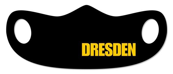 Mund- und Nasenmaske Dresden schwarz