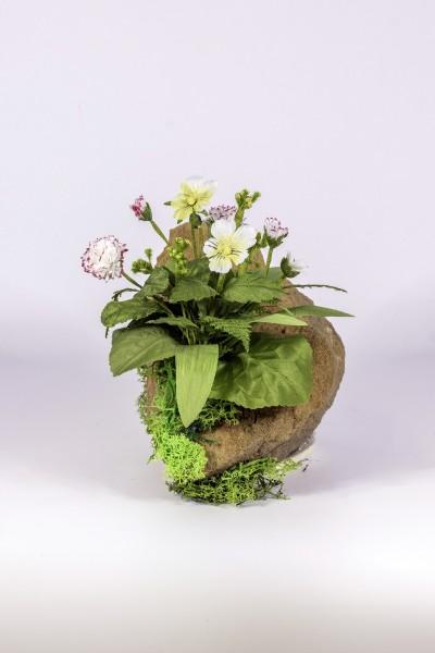 Blumengesteck Drachenkopf