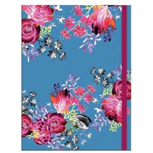 Notizbuch Blumenmotiv