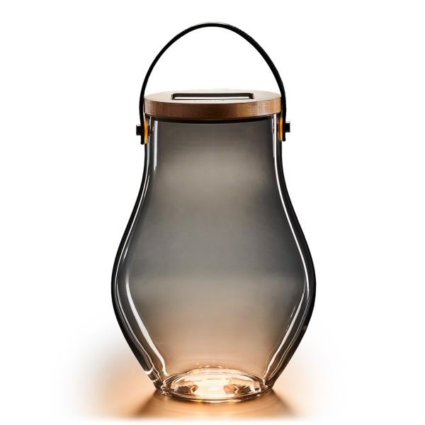 Krinner Lumix Deko Glas-Solarlampe BOLD