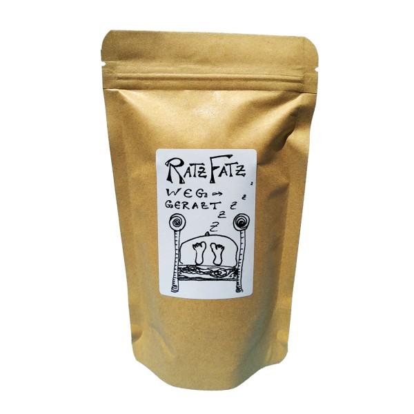 Tee-Mischung Ratz-Fatz wegegratzt