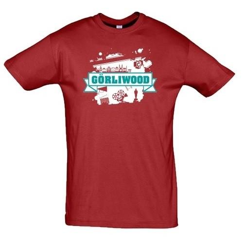 T-Shirt Görliwood rot