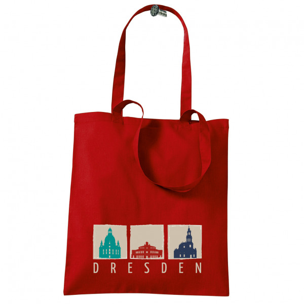 Stoffbeutel Dresden 3er-Ansicht