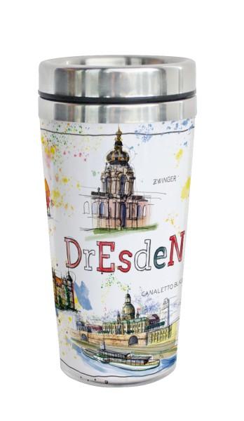 Dresden - Fineart: Coffee-to-go-Becher