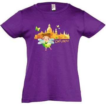 Kinder-T-Shirt Dresden-Fee