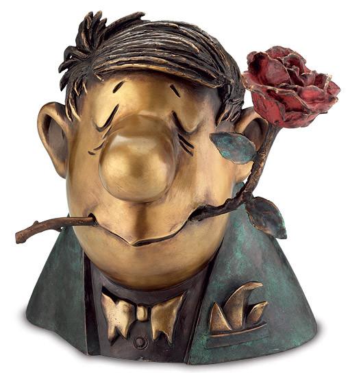 Loriot: Skulptur Der Rosenkavalier