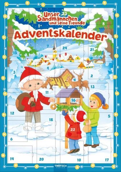 Adventskalender Sandmann - Magnet