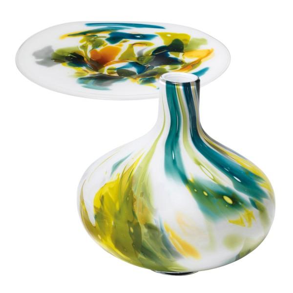 Glasschale & Glasvase Monet Set