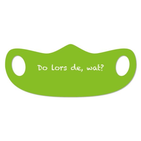 Mund- und Nasenmaske Köln Do lors de, wat?