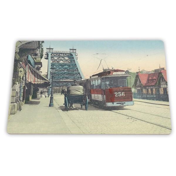 Frühstücksbrett Schillerplatz um 1900
