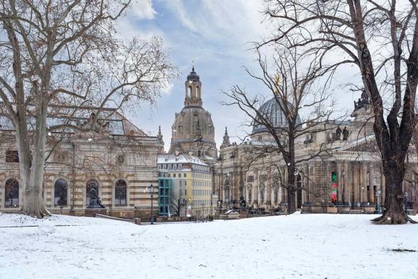 Wandbild Dresden - Der Brühlsche Garten (Motiv DMDD15)