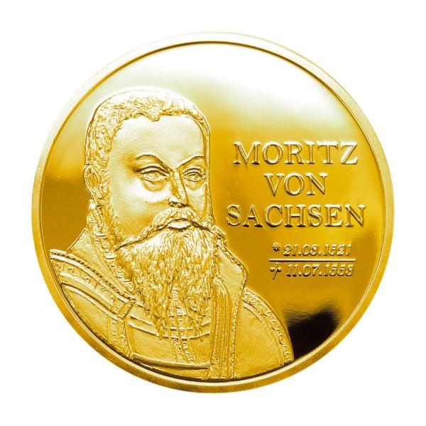 """Sonderprägungen Feingold 3er-Set - """"500. Geburtstag Moritz von Sachsen"""""""